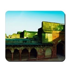 Low angle view of a fort, Agra Fort, Agr Mousepad