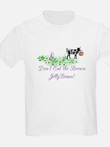 Nigerian-GOAT-Brown JellyBeans Kids T-Shirt