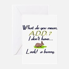 add bunny Greeting Cards (Pk of 10)