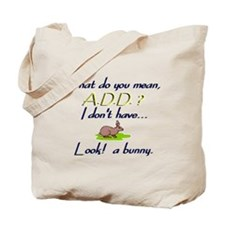 add bunny Tote Bag
