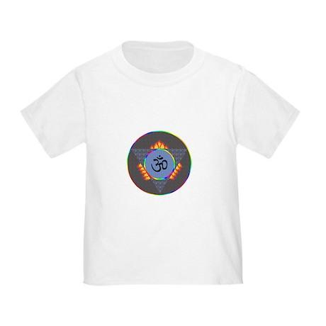 Mystical 3rd Eye Om Symbol Toddler T-Shirt