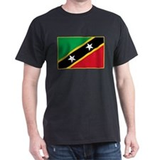 Saint Kitts Flag T-Shirt