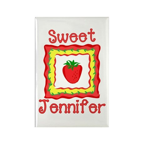 Sweet Jennifer Rectangle Magnet
