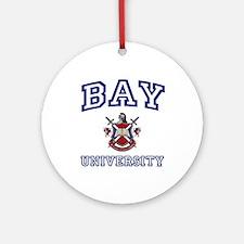 BAY University Ornament (Round)