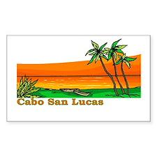 Cabo San Lucas, Mexico Rectangle Decal
