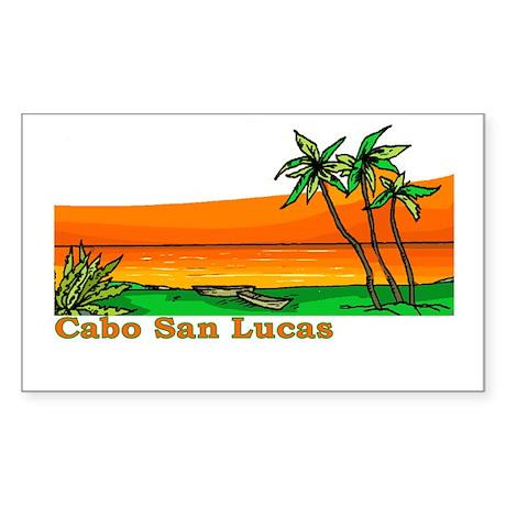 Cabo San Lucas, Mexico Rectangle Sticker