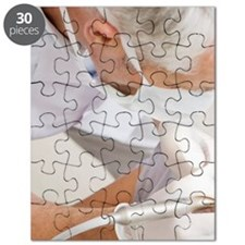 Dentist working on patients teeth Puzzle