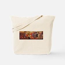 Adoration of the Magi - Masaccio Tote Bag