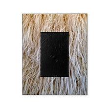 White Fur Picture Frame