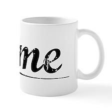 Fame, Vintage Mug