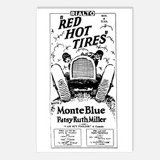 Patsy Ruth Miller RED HOT Postcards (Package of 8)