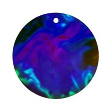 Colorful background Round Ornament