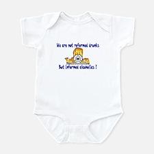 Real Alcoholics Infant Bodysuit