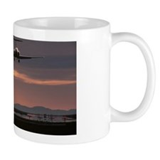 Airplane at Sunset Mug
