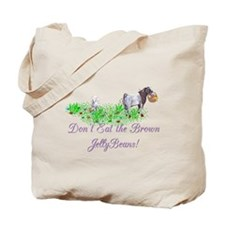 Boer-GOAT-Brown JellyBeans Tote Bag