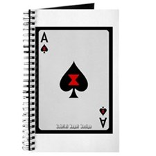 Ace of Spades Card Journal