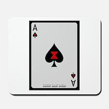 Ace of Spades Card Mousepad