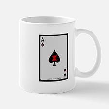 Ace of Spades Card Mug