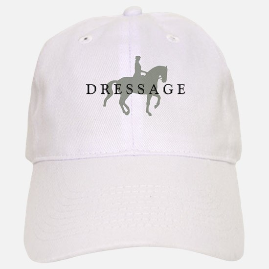 Piaffe w/ Dressage Text Baseball Baseball Cap