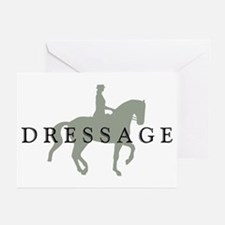 Piaffe w/ Dressage Text Greeting Cards (Pk of 10)