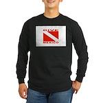 Dive Mexico Long Sleeve Dark T-Shirt