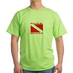 Dive Mexico Green T-Shirt
