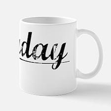 Faraday, Vintage Mug