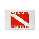 Dive Mexico Rectangle Magnet (10 pack)