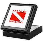 Dive Mexico Keepsake Box