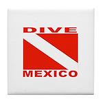 Dive Mexico Tile Coaster