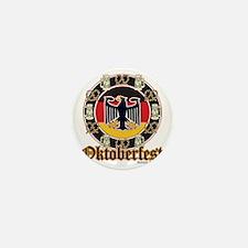Oktoberfest Beer and Pretzels Mini Button