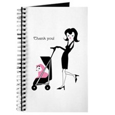 Cute Baby shower thank you Journal