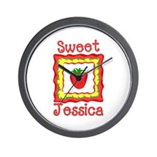 Sweet Jessica Wall Clock