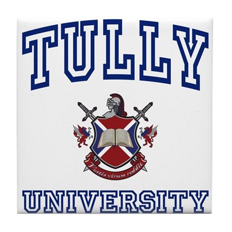 TULLY University Tile Coaster