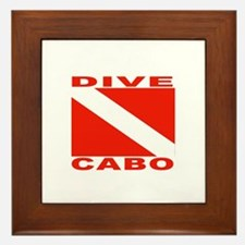 Dive Cabo Framed Tile