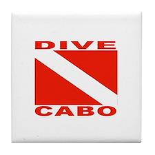 Dive Cabo Tile Coaster
