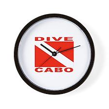 Dive Cabo Wall Clock