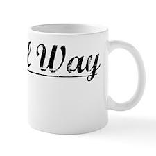 Federal Way, Vintage Mug