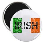 Irish Flag distressed 2.25