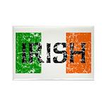 Irish Flag distressed Rectangle Magnet (10 pack)