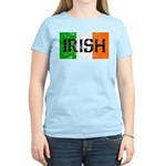Irish Flag distressed Women's Light T-Shirt