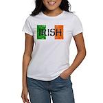 Irish Flag distressed Women's T-Shirt