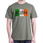 Irish Flag distressed Dark T-Shirt