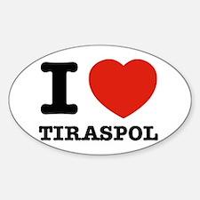 I LOVE TIRASPOL Decal