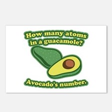 How many atoms in a guacamole? Avocado's number. P