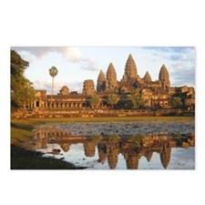 Sunset at Angkor Wat with Postcards (Package of 8)