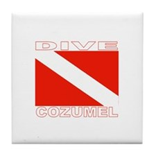Dive Cozumel Tile Coaster