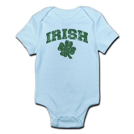 Worn Irish Shamrock Infant Bodysuit