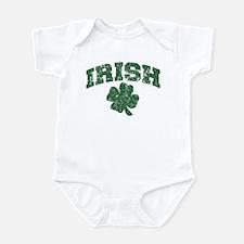 Worn Irish Shamrock Infant Bodysuit