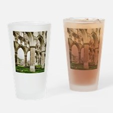 Cloisters of Rievaulx Abbey Drinking Glass